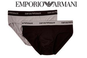 Oferta pack 2 Slips Emporio Armani Underwear baratos amazon