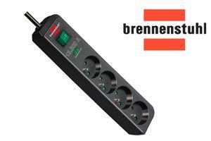 Oferta regleta con protección sobretensión Brennenstuhl 1159701 barata