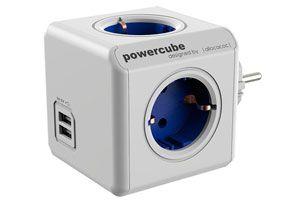 Oferta regleta Allocacoc PowerCube 4 tomas y 2USB barata amazon