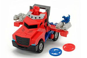 Oferta Optimus Prime camion transformers barato amazon
