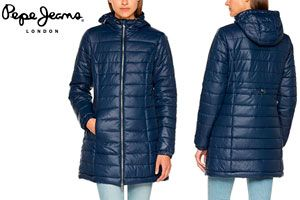 Oferta abrigo para mujer Pepe Jeans Ballad barato amazon