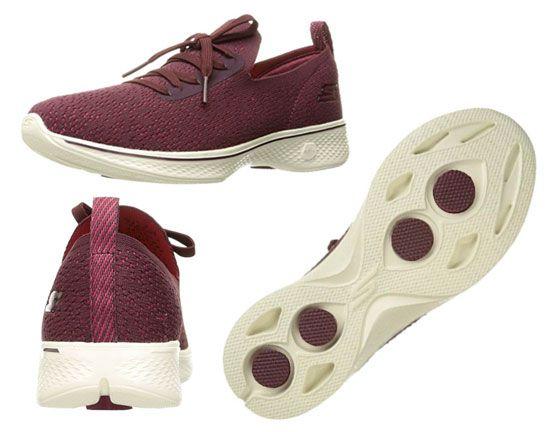 Oferta zapatillas de mujer Skechers Go Walk 4 reward baratas amazon