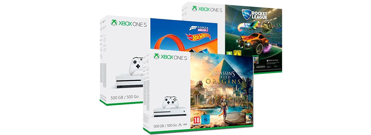Ofertas En Pack S De Juego Y Consola Xbox One S 500gb Baratos Amazon