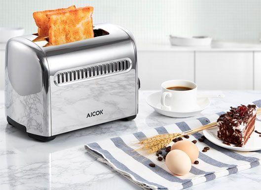 Oferta tostadora Aicok con código de desceunto barata en Amazon