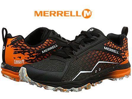 Oferta zapatillas de trail running Merrell All Out Crush Tough Mudder baratas amazon