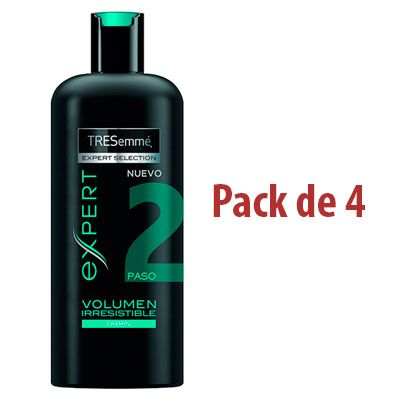 Oferta champú Tresemmé Volumen Irresistible pack de 4 barato amazon