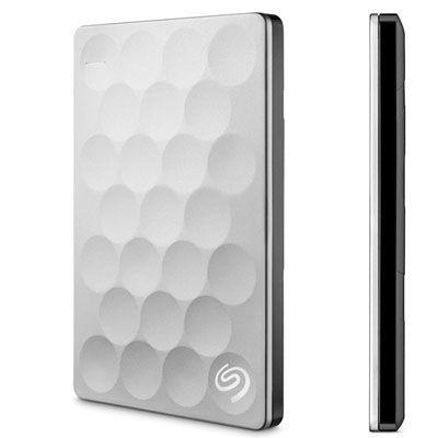 Oferta disco duro externo Seagate Backup Plus Ultra Slim platino barato amazon