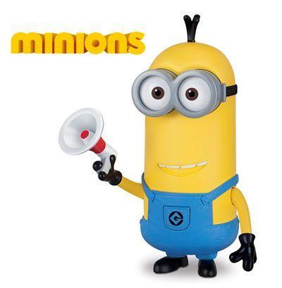 Oferta figura Minions DeLuxe con voz Tim con megáfono barata amazon