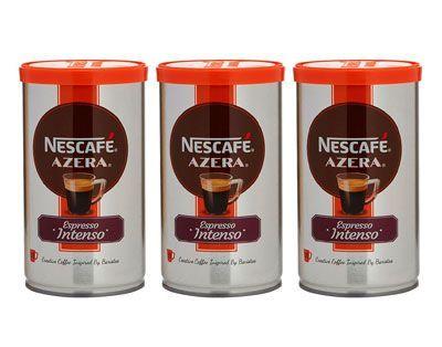 Oferta pack de 3 latas de Nescafé Azera Espresso Intenso barato amazon