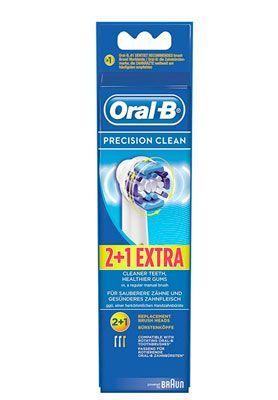 Oferta pack 3 recambios Oral B Precision Clean baratos amazon