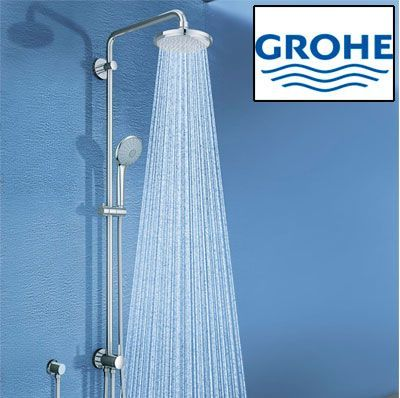 Oferta sistema de ducha Grohe Euphoria System con monomando barato amazon