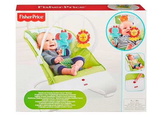 Oferta hamaca Fisher Price - Baby Gear Confort y Diversión barata amazon