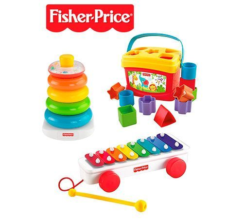 Fisher Price Trío Clásico