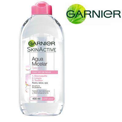 Oferta agua Micelar Garnier todo en 1 400 ml barata amazon
