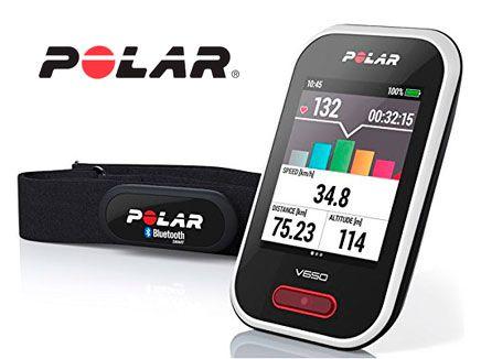 Oferta ciclocomputador con GPS Polar V650 HR barato amazon