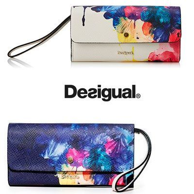 Oferta monedero Desigual Corel Reversible barato amazon
