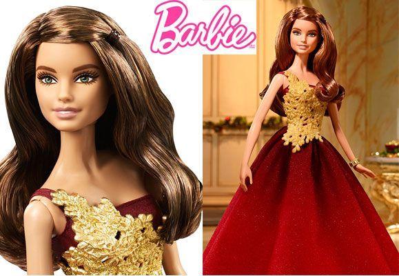 Oferta muñeca Barbie Felices Fiestas 2016 barata amazon