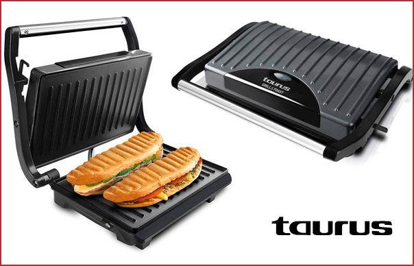 Oferta sandwichera Taurus Grill and Toast gris barata