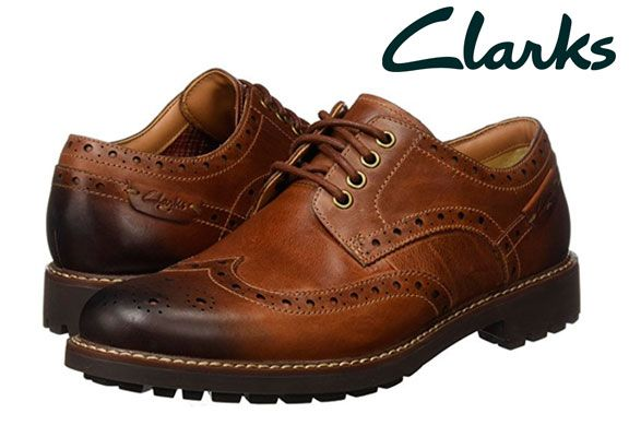 Oferta zapatos Clarks Montacute Wing baratos amazon