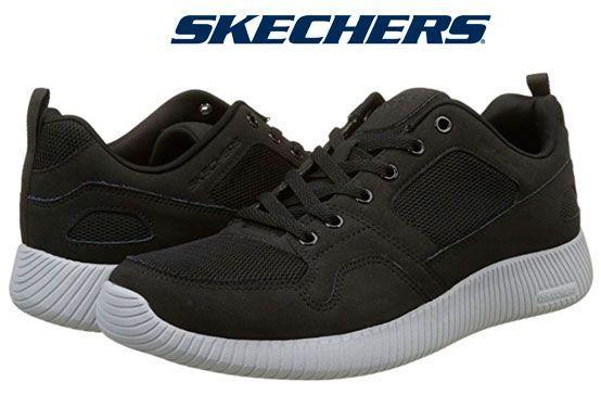 Ofertas zapatillas Skechers Depth Charge negras baratas amazon