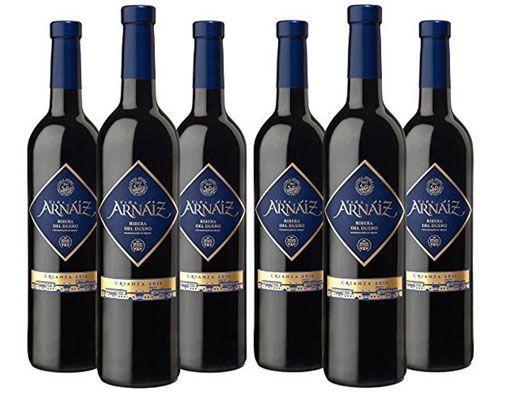 Oferta vino tinto Viña Arnáiz Crianza D.O Ribera del Duero barato amazon
