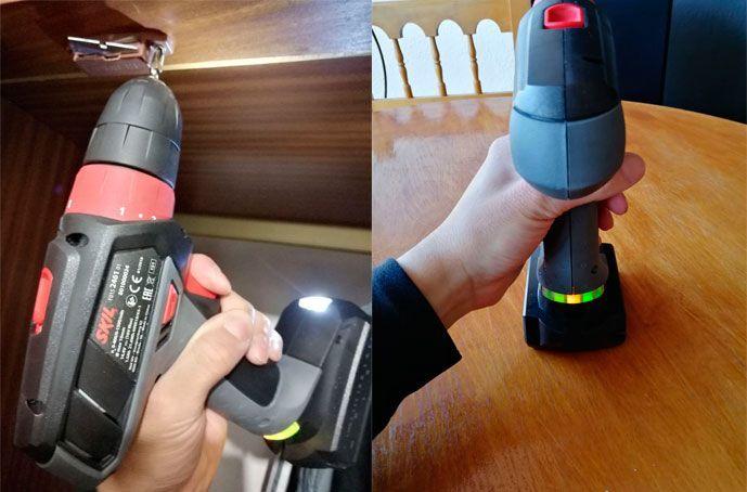 Taladro atornillador Skil 2461 AA Hybrid Power