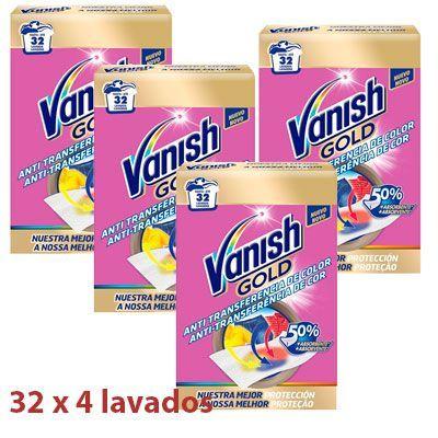 Oferta 4 paquetes toallitas anti-transferencia Vanish Gold baratas amazon