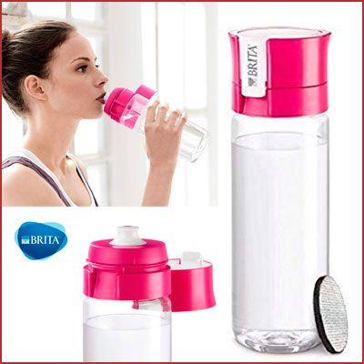Oferta botella de agua filtrada Brita Fill&Go
