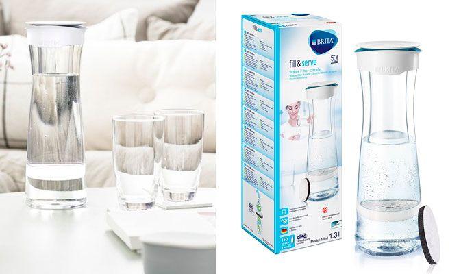 Oferta botella de agua filtrada Brita Fill&Serve barata amazon