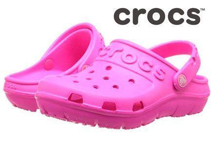 Oferta Crocs Hilo Clog Kids rosa baratos amazon