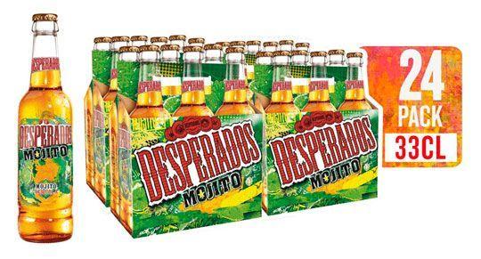 24 botellas de Desperados Cerveza con tequila y mojito barato amazon