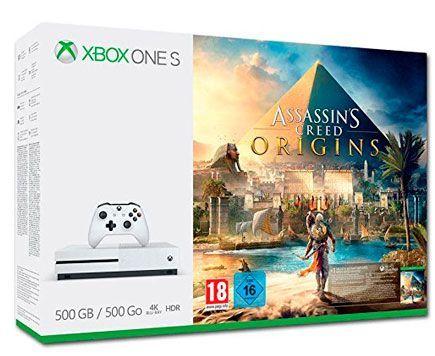 Oferta consola Xbox One S 500 GB con Assassin's Creed Origins barata amazon