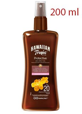 Oferta aceite solar protector Hawaiian Tropic SPF 20 barato amazon