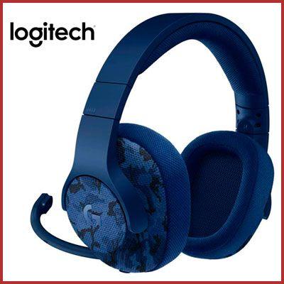 Oferta auriculares Logitech G433 azules baratos