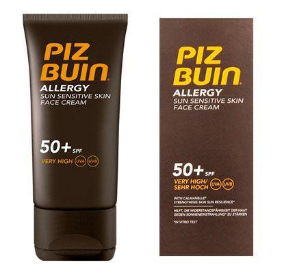 Oferta crema facial Piz Buin Allergy SPF50 barata amazon