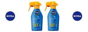 Oferta 2 spray solar Nivea Sun Kids SPF50 300 ml