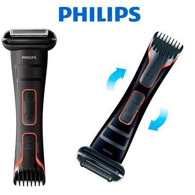 Oferta afeitadora corporal inalámbrica Philips BodyGroom TT2039 barata amazon