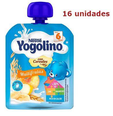 Oferta pack de 16 Nestlé Yogolino multifrutas con cereales barato amazon