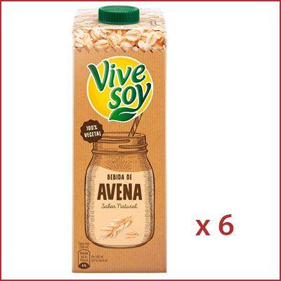 Oferta pack de 6 Vivesoy Avena