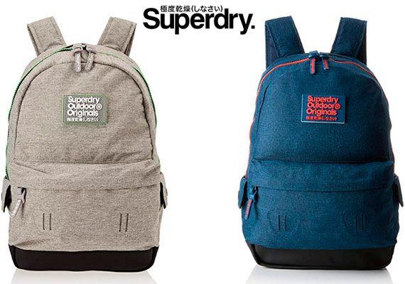 Oferta mochilas Superdry Fresh International Montana barata amazon