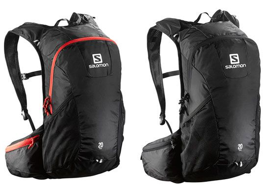 Oferta mochila de senderismo Salomon Trail 20 barata amazon
