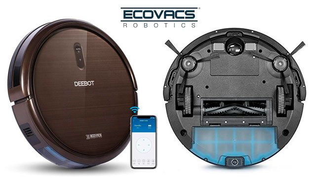 Oferta robot aspirador Ecovacs DEEBOT N79S barato amazon