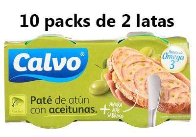 Calvo Pate de Atún con Aceitunas