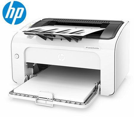 Oferta impresora HP Laserjet ProM12w barata amazon