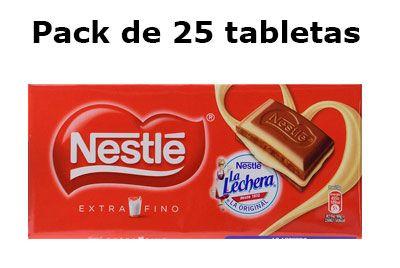 Oferta Chocolate Nestle extrafino con Leche Condensada barato amazon