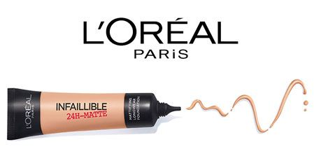 Oferta base de maquillaje L'Oréal Paris Infalible 24H Mate barata amazon