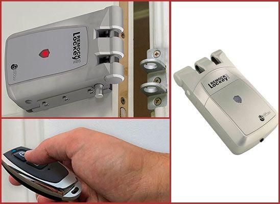 Oferta cerradura de seguridad invisible Remock Lockey Pro RLP4G barata amazon
