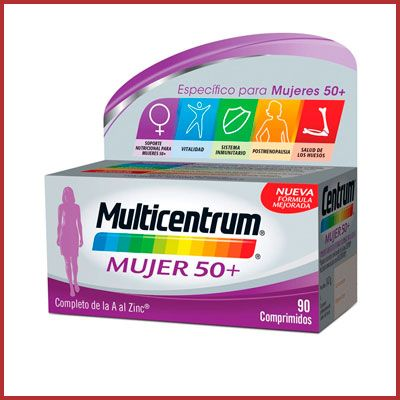 Oferta MULTICENTRUM Mujer 50+ barato amazon