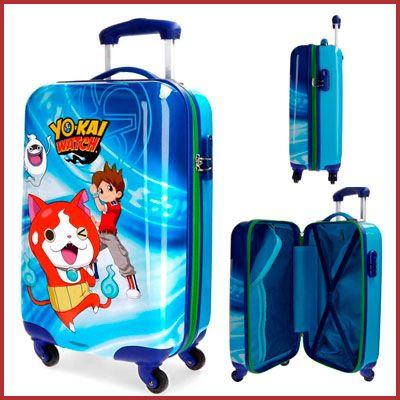 Oferta maleta infantil de cabina Yokai Watch barata