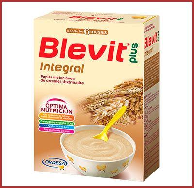 papilla de cereales Blevit Plus Integral